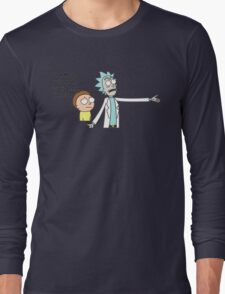 Rick and Morty - Graphic Design Dimension Long Sleeve T-Shirt