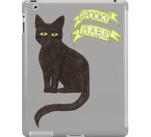 Spooky Babe iPad Case/Skin