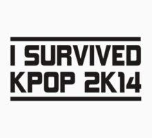 I SURVIVED KPOP 2K14 - BLUE  Kids Clothes