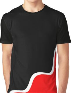 Simple black and red Graphic T-Shirt