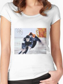 Skaters 2 Women's Fitted Scoop T-Shirt