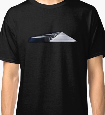 Westworld Piano and Text Classic T-Shirt