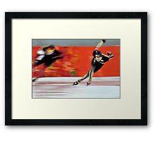 Skaters Framed Print