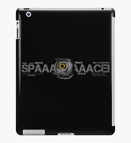 SPACE-SPACE iPad Case/Skin