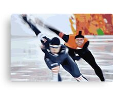 Skaters 3 Canvas Print
