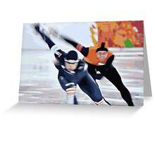 Skaters 3 Greeting Card