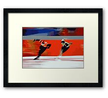 Skaters 5 Framed Print