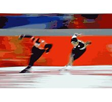Skaters 5 Photographic Print