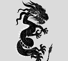 Black Dragon White Style by Dave Stephens