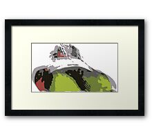 Sledge Framed Print