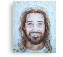 His Smile Lights The World Canvas Print