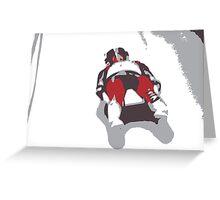 Sledge Greeting Card