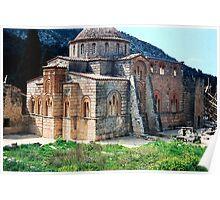 Church at Daphni, Greece Poster
