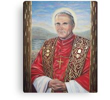 JPII We Love You Canvas Print