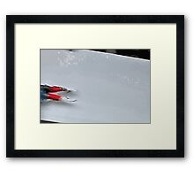 Sledge 2 Framed Print