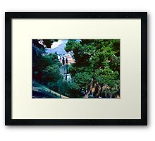 View of Church at Daphni, Greece, Spring 1960 Framed Print