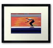 Skater 3 Framed Print