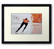 Skater 5 Framed Print