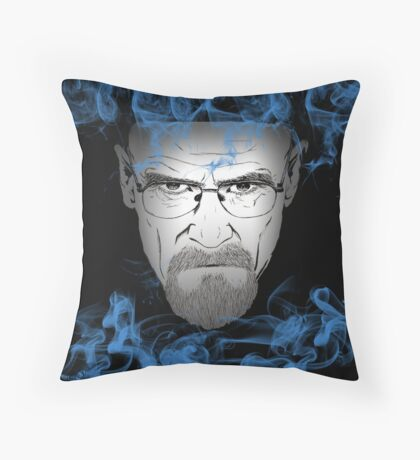 """I am the one who knocks"" Throw Pillow"