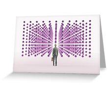 New Social Network Greeting Card