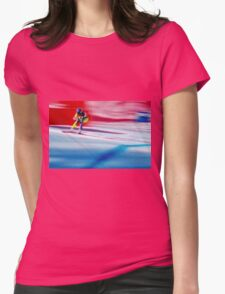 Giants Slalom  Womens Fitted T-Shirt