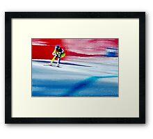 Giants Slalom  Framed Print