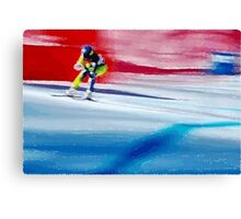 Giants Slalom  Canvas Print