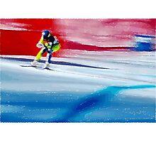 Giants Slalom  Photographic Print