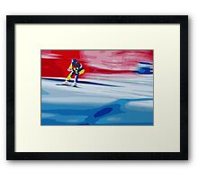 Giants Slalom 2 Framed Print