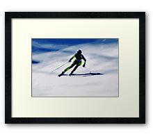 Giants Slalom 3 Framed Print