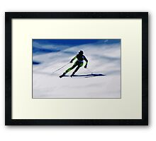 Giants Slalom 3 Framed Print