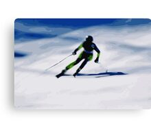 Giants Slalom 3 Canvas Print