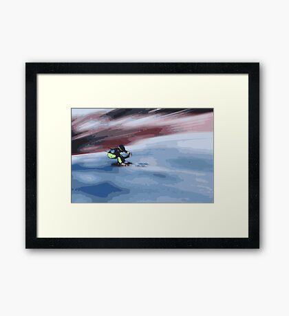 Giants Slalom 4 Framed Print