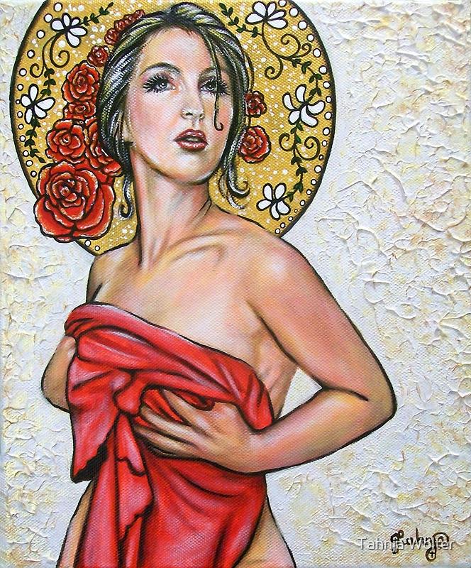 Eve (Art Nouveau) - Series #3 by Tahnja