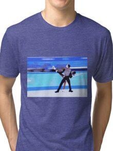Figure Skaters Tri-blend T-Shirt