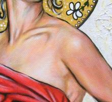 Eve (Art Nouveau) - Series #3 Sticker