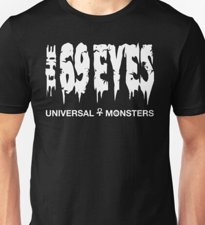The 69 Eyes - Universal Monsters Unisex T-Shirt