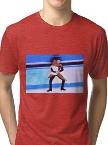 Figure Skaters 2 Tri-blend T-Shirt