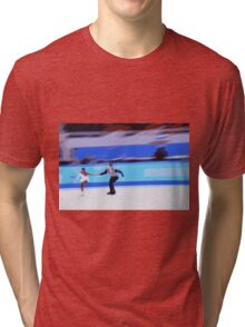 Figure Skaters 3 Tri-blend T-Shirt