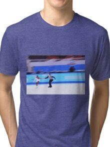 Figure Skaters 3 Tri-blend T-Shirt