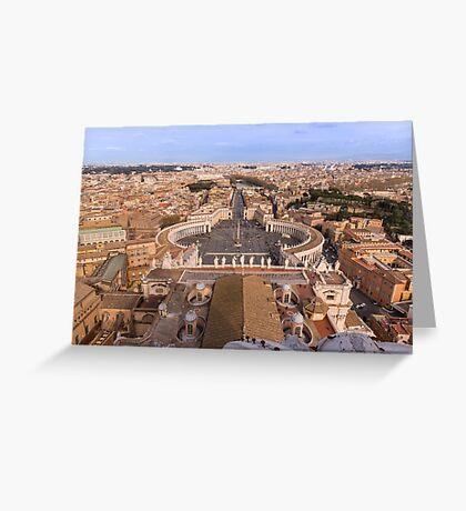 Rome's Obelisk Greeting Card