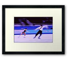 Figure Skaters 5 Framed Print