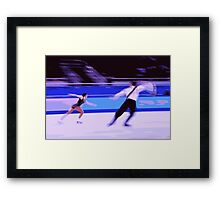 Figure Skaters 5 Framed Print