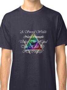 Legend of Zelda, Courage Classic T-Shirt