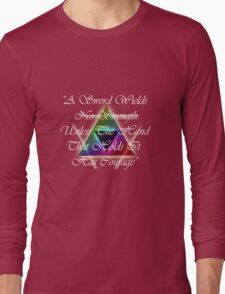 Legend of Zelda, Courage Long Sleeve T-Shirt