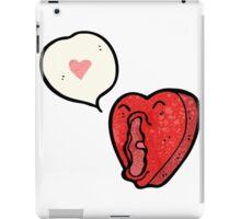 funny cartoon love heart iPad Case/Skin