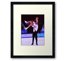 Figure Skaters 6 Framed Print