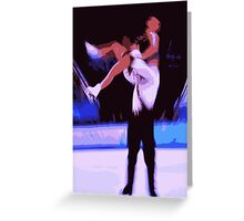 Figure Skaters 6 Greeting Card