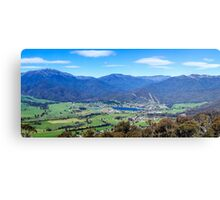 Mount Beauty Panorama Canvas Print