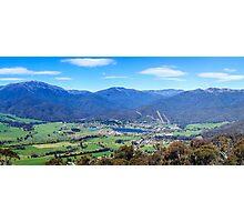 Mount Beauty Panorama Photographic Print